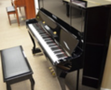 Kawai professional upright with Queen Anne legs